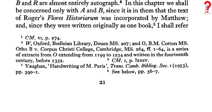 How To Do ChicagoStyle Footnotes