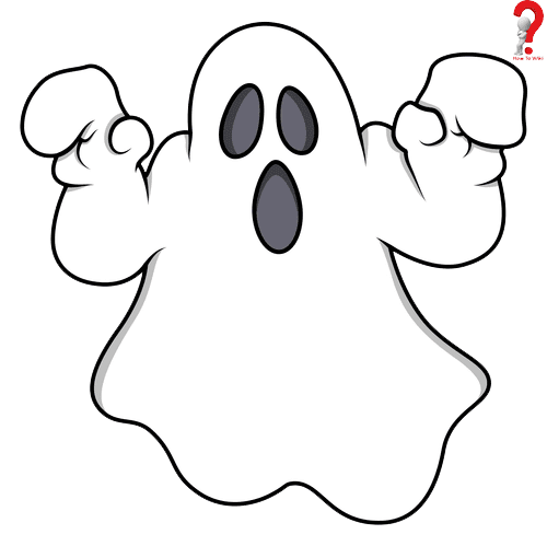 ghost drawing image