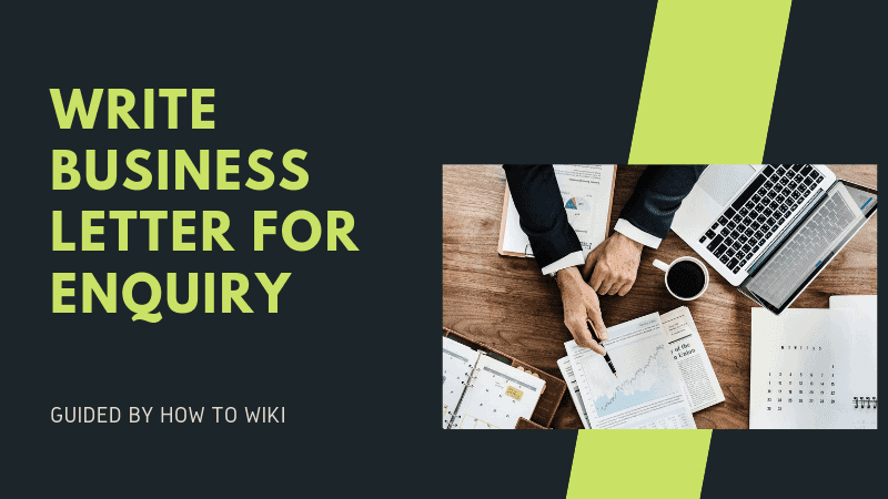 business letter for inquiry